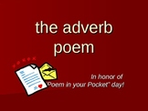 The Adverb Poem: a fun writing & grammar activity