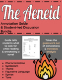 The Aeneid Annotation Guide and Student-led discussion bundle