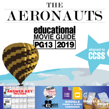 The Aeronauts Movie Guide | Questions | Worksheet (PG13 - 2019)
