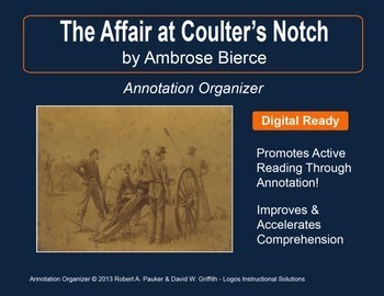 """THE AFFAIR AT COULTER'S NOTCH"" by AMBROSE BIERCE: Annotation Organizer"