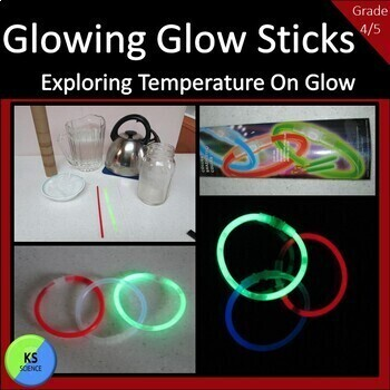 Experiment with Temperature on the Brightness of Glow Sticks:  4th and 5th Grade