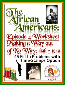 The African Americans Many Rivers to Cross Episode 4 Works