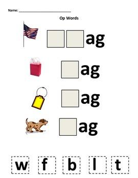 "The ""Ag"" Word Family"