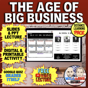 The Age of Big Business Bundle