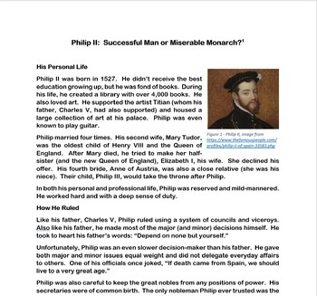 The Age of Absolutism: Philip II of Spain
