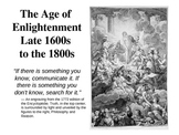 The Age of Enlightenment Guided Notes