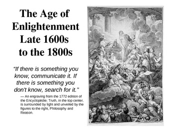 notes about enlightenment period of psychology Before this period of european history lay the middle ages, often called the dark   th century enlightenment, as periods where the study of the mind truly began.