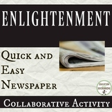 Enlightenment Project Quick and Easy Newspaper