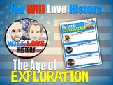 The Age of Exploration Activity
