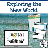 The Age of Exploration Digital Interactive Notebook for Google Drive