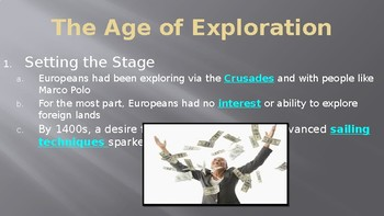 The Age of Exploration Europeans Explore the East Lecture PowerPoint