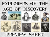 The Age of Exploration : Explorers Biography Bundle