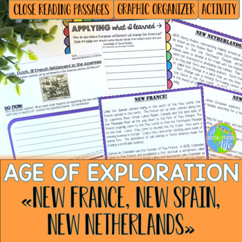 New France, New Spain, New Netherlands