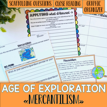 Mercantilism during the Age of Exploration