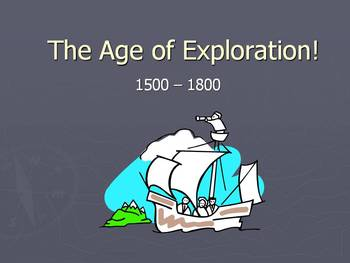 The Age of Exploration Lesson Plan: Storybook Activity (Article + ppt)