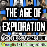 Age of Exploration Mini-Unit!  A 6-Step Scavenger Hunt for 10 Explorers!