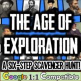 Age of Exploration Mini-Unit |  A 6-Step Scavenger Hunt for 10 Explorers!