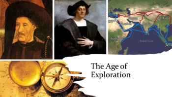 Age of Exploration PowerPoint and Guided Notes Sheet