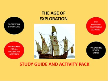 The Age of Exploration: Study Guide and Activity Pack
