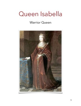 Queen Isabella: Text, Reading Comprehension, Vocabulary