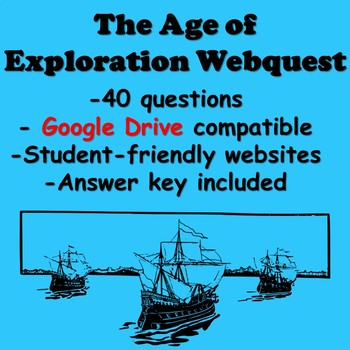 The Age of Exploration Webquest
