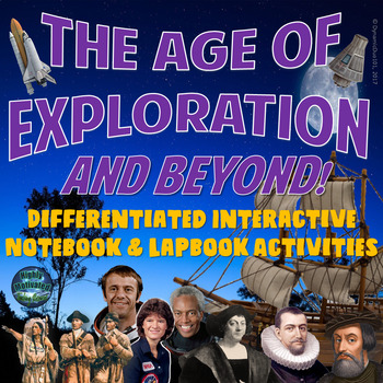 The Age of Exploration Differentiated Interactive Activities w/ Test Prep