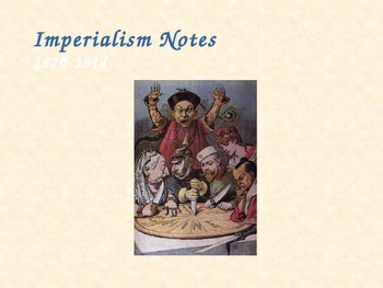 The Age of Imperialism Guided Notes