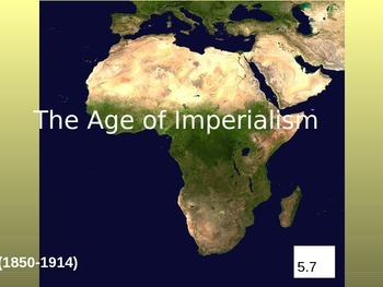 The Age of Imperialism in Africa Powerpoint & Notes (5.7)