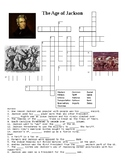 The Age of Jackson Crossword or Web Quest