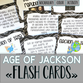 Andrew Jackson Flash Cards
