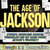Age of Jackson Unit: 4 Common-Core focused lessons to teach President Jackson!