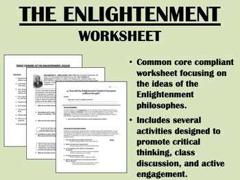 The Enlightenment - Global/World/US History Common Core