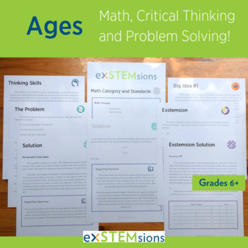Ages: Math, Problem Solving and Critical Thinking