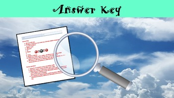 The Air Around You Lesson with Power Point, Worksheet, and Review Page