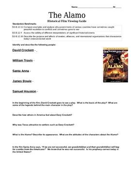 The Alamo - Historical Film Movie Guide
