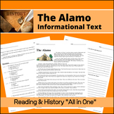 The Alamo - Informational Text for Reading Comprehension