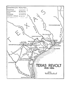 The Alamo - James Clinton Neill Word Search
