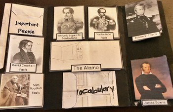 The Alamo Lap Book