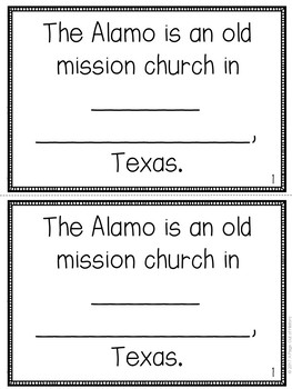 The Alamo Mini-Books (U.S. Landmarks)