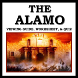 The Alamo Movie Guide: Includes Viewing Guide, Worksheet,