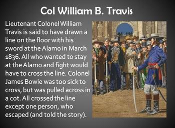 The Alamo Power Point (powerpoint) Texas History
