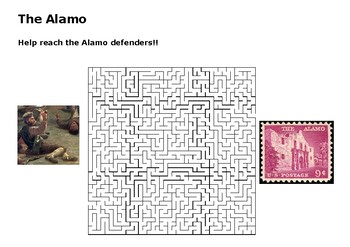 The Alamo Puzzle Maze