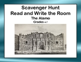 The Alamo-Read and Write The Room Scavenger Hunt