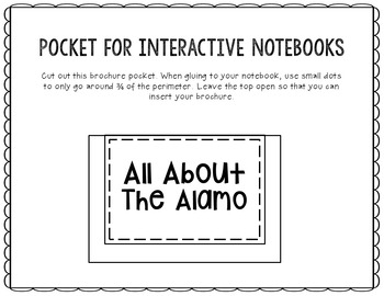 The Alamo Research Project Brochure Template, Geography, History