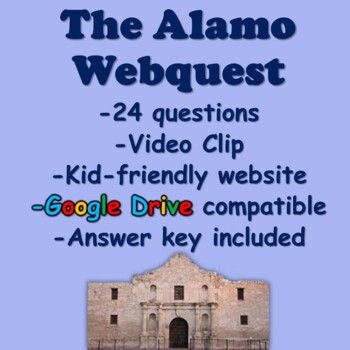 The Alamo Webquest