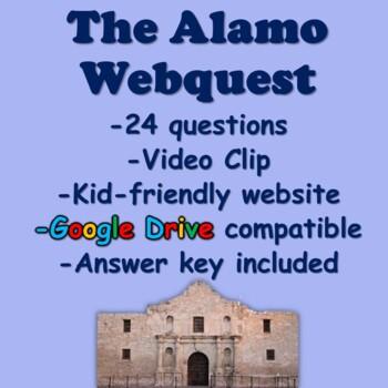 The Alamo Webquest