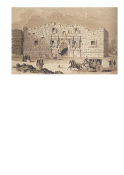 The Alamo - William Travis Word Search