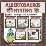 The Albertosaurus Mystery Language art BUNDLE