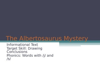The Albertosaurus Mystery Lesson 17