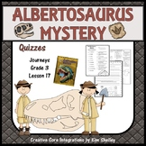 The Albertosaurus Mystery - Quizzes